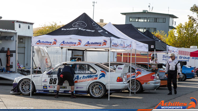 Achilles Motorsports BMWCCA Race Cars at Thunderhill