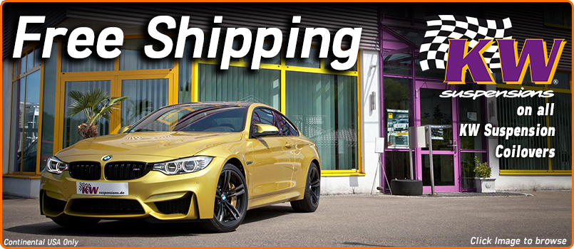 Free Shipping on KW Suspension Coilovers