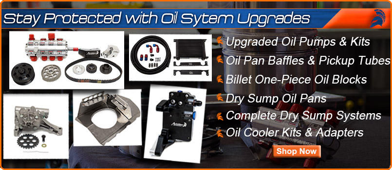BMW Racing and Performance Oil System Upgrades